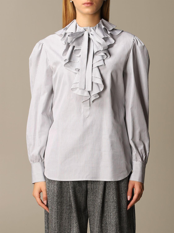 Shirt Alberta Ferretti: Shirt women Alberta Ferretti grey 1