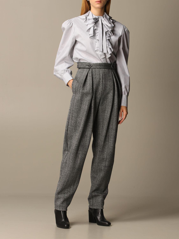 Shirt Alberta Ferretti: Shirt women Alberta Ferretti grey 2