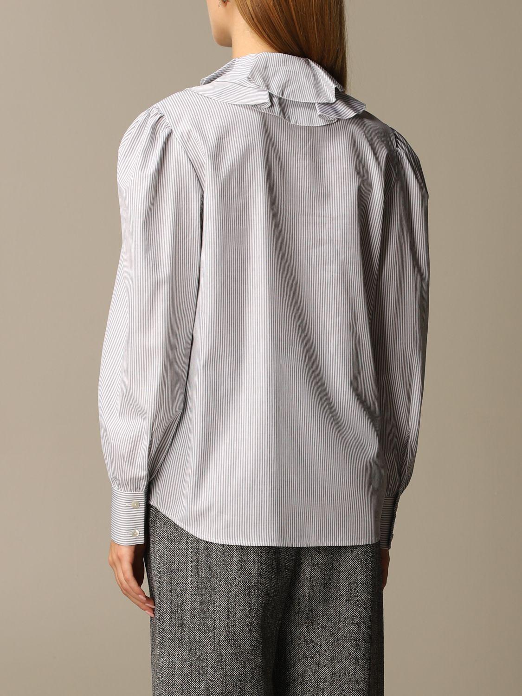 Shirt Alberta Ferretti: Shirt women Alberta Ferretti grey 3
