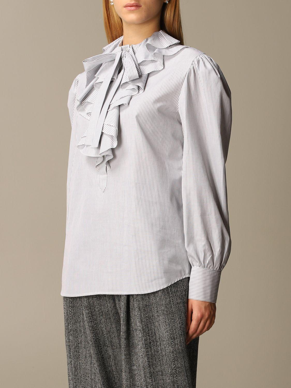 Shirt Alberta Ferretti: Shirt women Alberta Ferretti grey 4