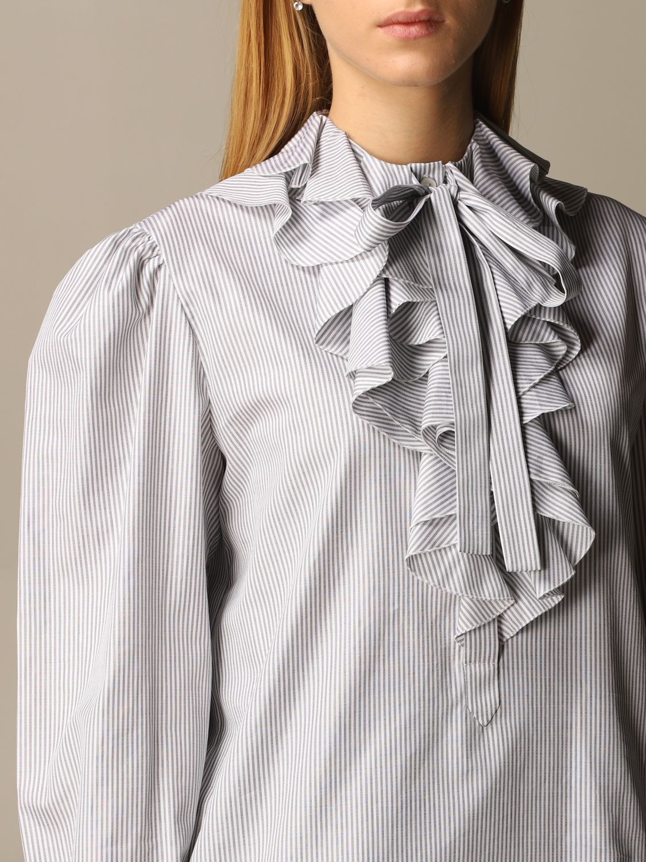 Shirt Alberta Ferretti: Shirt women Alberta Ferretti grey 5