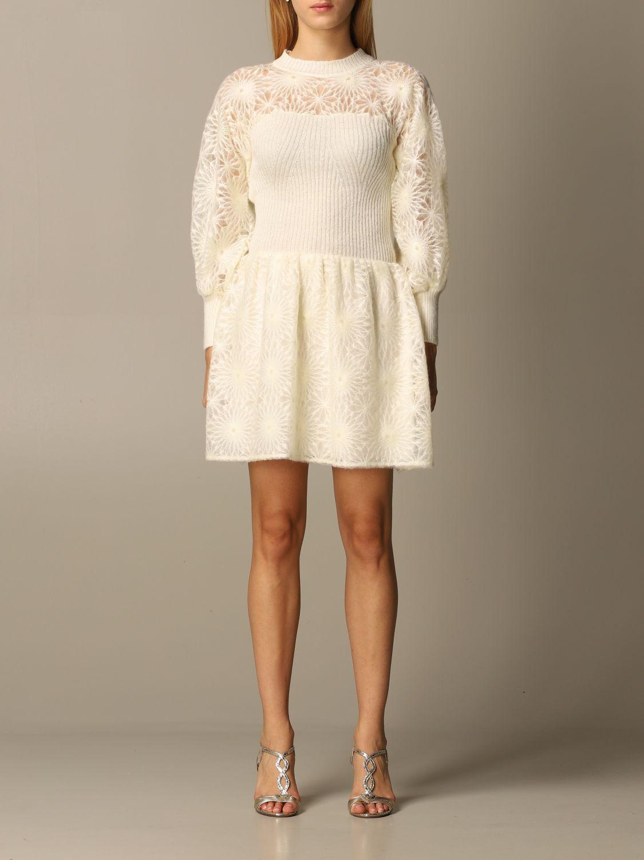 Dress Alberta Ferretti: Dress women Alberta Ferretti white 1