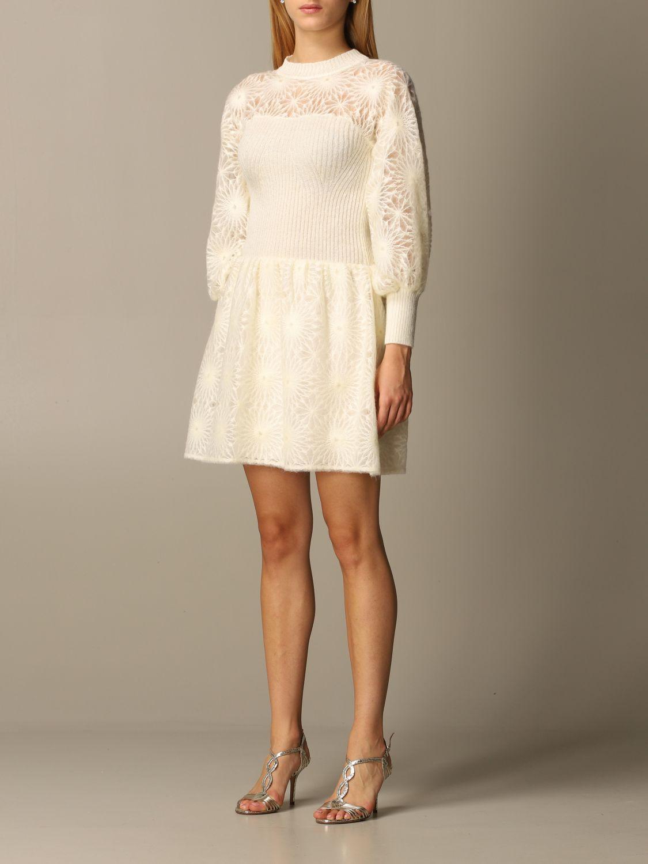 Dress Alberta Ferretti: Dress women Alberta Ferretti white 3