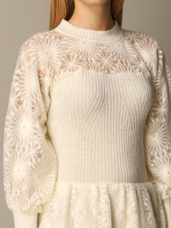 Dress Alberta Ferretti: Dress women Alberta Ferretti white 4