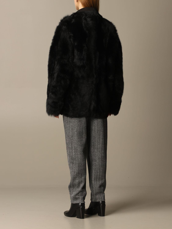 Coat Alberta Ferretti: Coat women Alberta Ferretti black 3