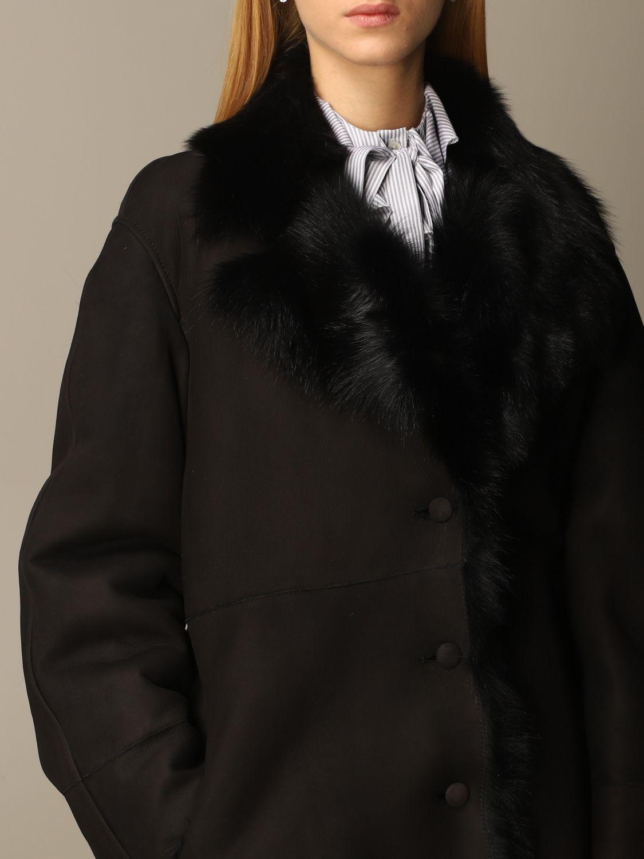 Coat Alberta Ferretti: Coat women Alberta Ferretti black 5