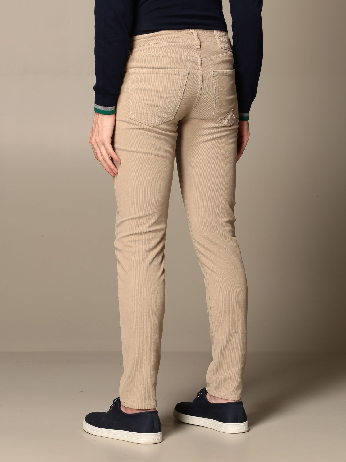 Pants Roy Rogers: Roy Rogers trousers with 5 pockets beige 2