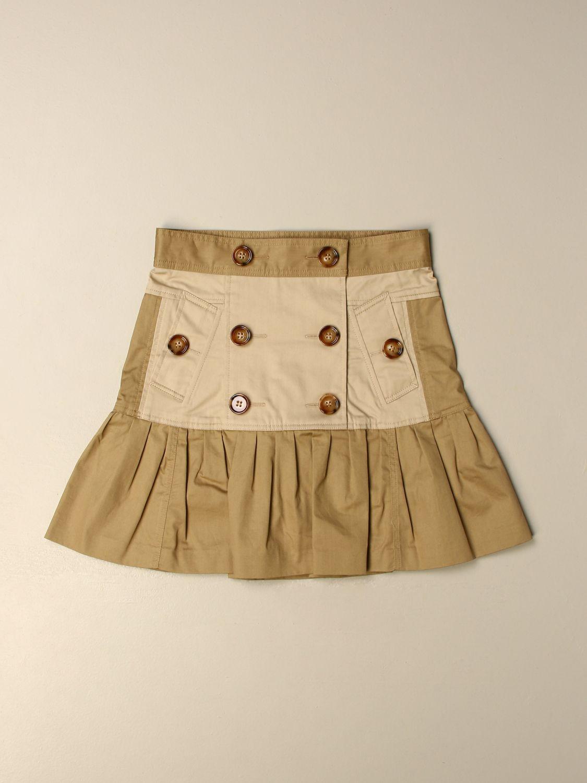 Falda Burberry: Falda niños Burberry miel 1