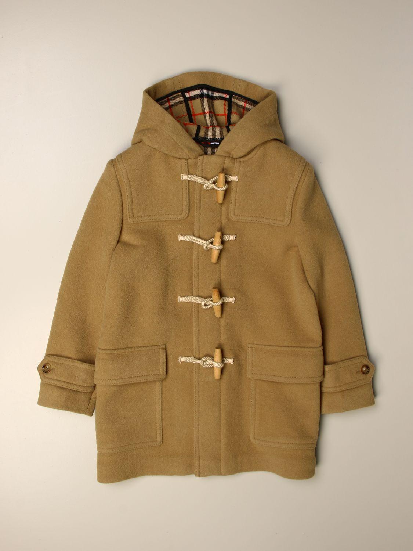 Coat Burberry: Coat kids Burberry beige 1