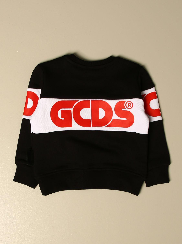 Sweater Gcds: Gcds sweatshirt with logo black 2