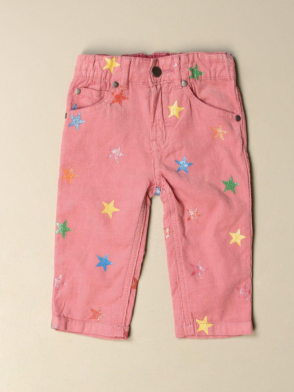 裤子 Stella Mccartney: 裤子 儿童 Stella Mccartney 粉色 1