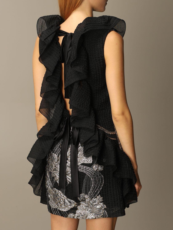Платье Alberta Ferretti: Платье Женское Alberta Ferretti черный 4