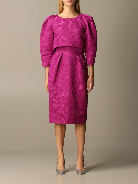 Dress Alberta Ferretti: Dress women Alberta Ferretti violet 1