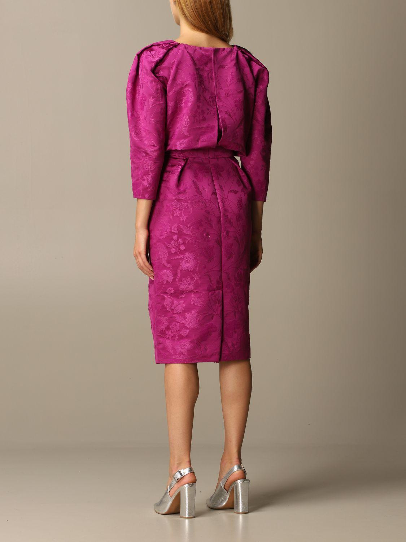 Dress Alberta Ferretti: Dress women Alberta Ferretti violet 2
