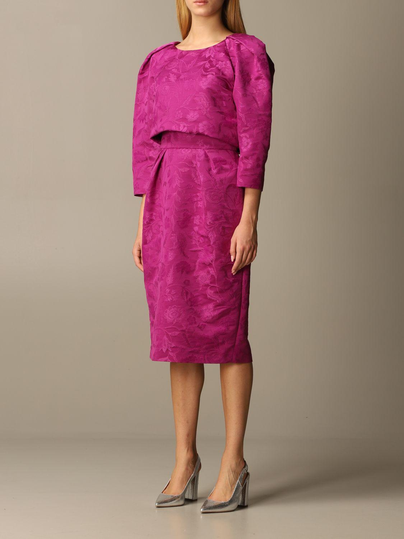 Dress Alberta Ferretti: Dress women Alberta Ferretti violet 3