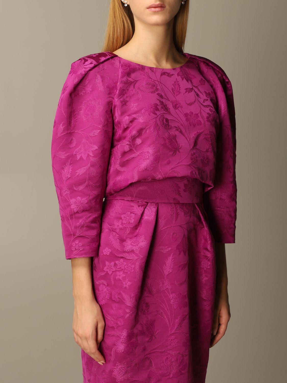 Dress Alberta Ferretti: Dress women Alberta Ferretti violet 4