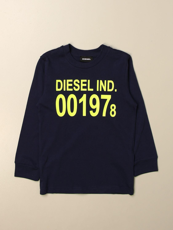 T-shirt Diesel: T-shirt kids Diesel pavone 1