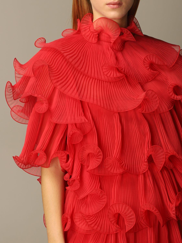 Платье Alberta Ferretti: Платье Женское Alberta Ferretti красный 4