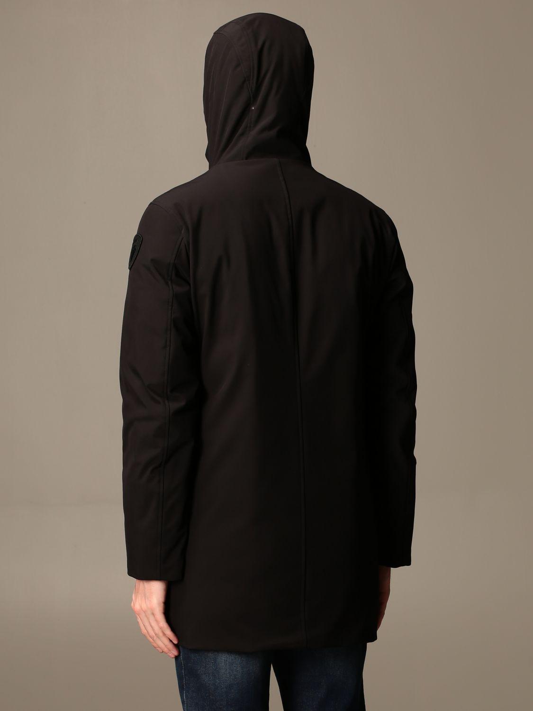 Giacca Blauer: Giubbotto Blauer con cappuccio nero 2