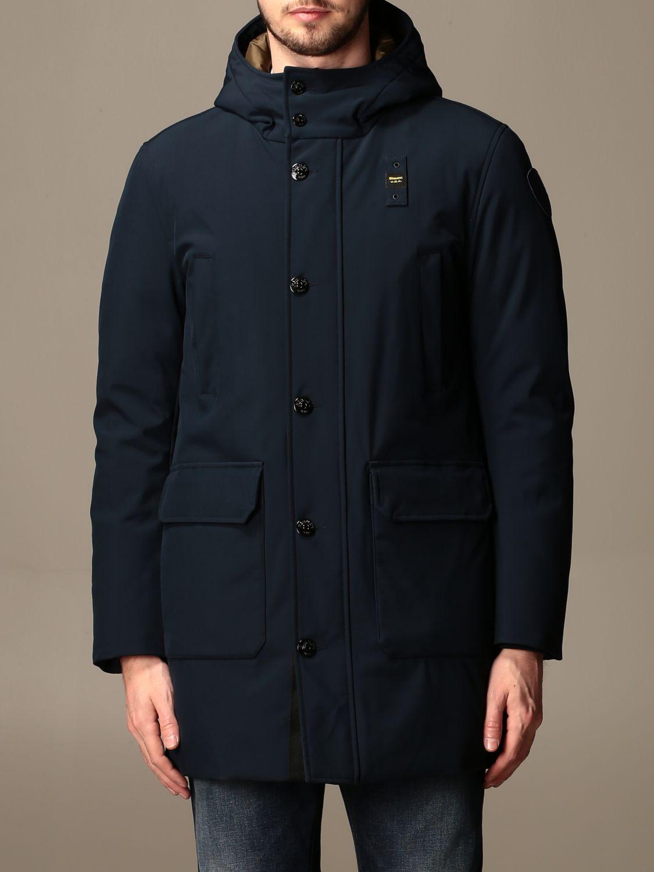 Jacket Blauer: Blauer jacket with hood blue 1