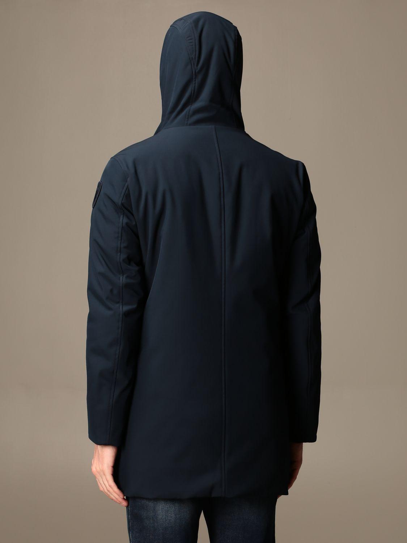 Jacket Blauer: Blauer jacket with hood blue 2