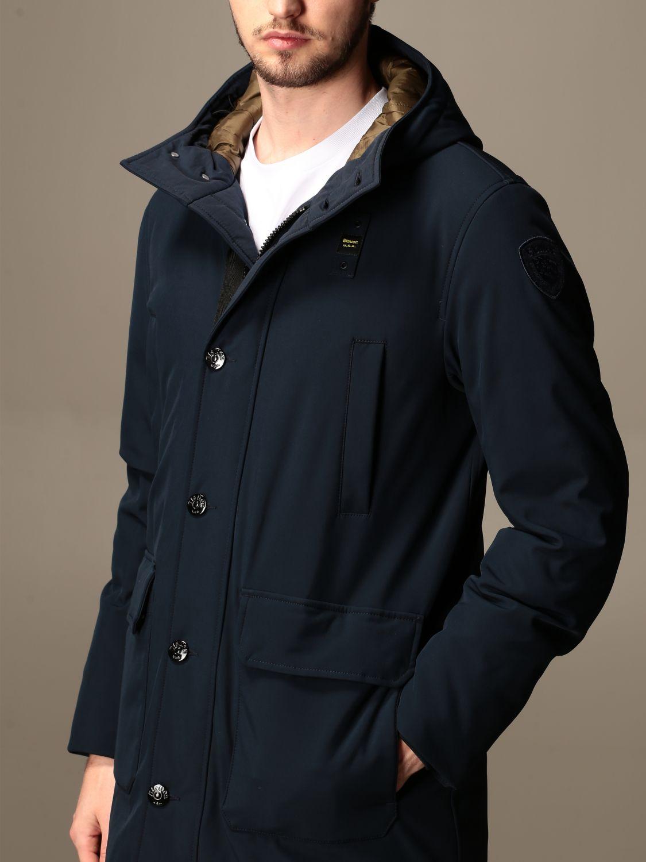 Jacket Blauer: Blauer jacket with hood blue 3