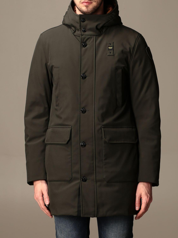 Jacket Blauer: Trench coat men Blauer green 1