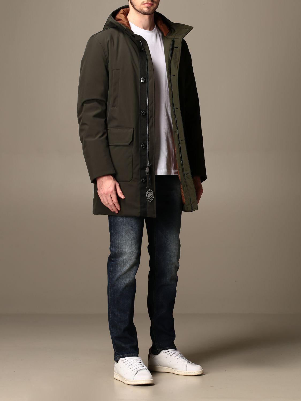 Jacket Blauer: Trench coat men Blauer green 2