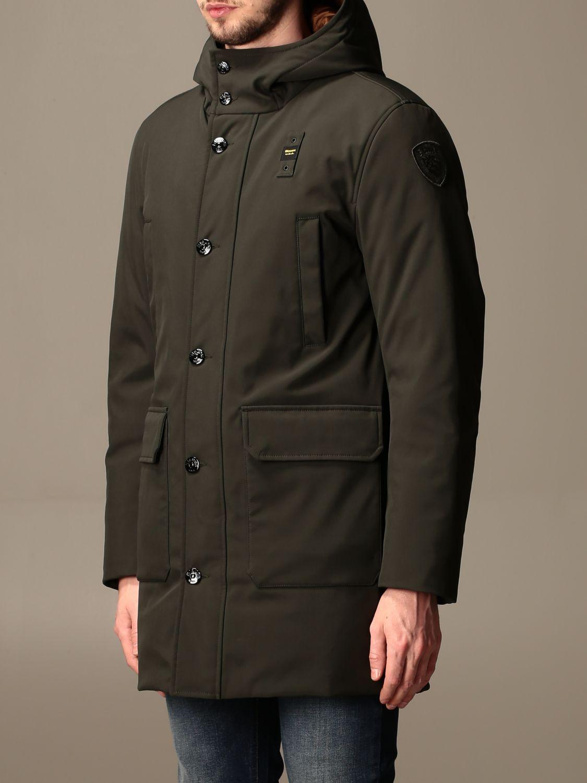 Jacket Blauer: Trench coat men Blauer green 4
