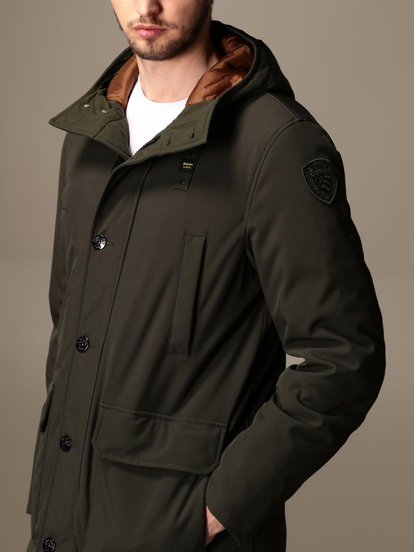 Jacket Blauer: Trench coat men Blauer green 5