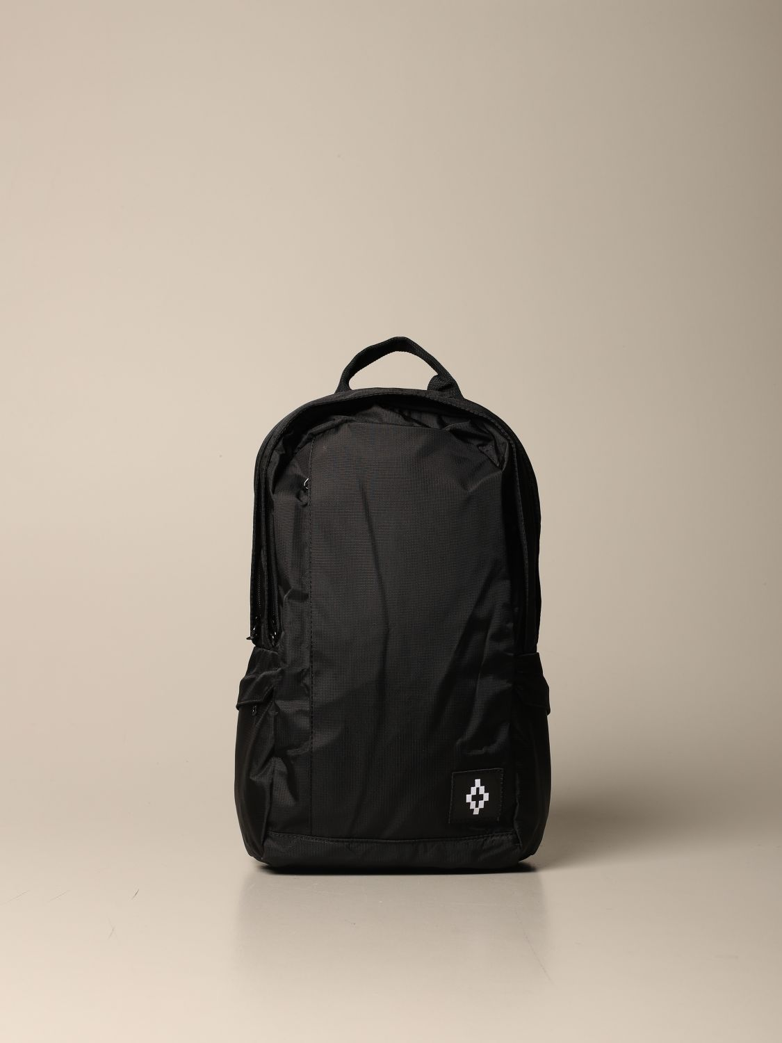 Duffel Bag Marcelo Burlon: Marcelo Burlon backpack in canvas with logo black 1
