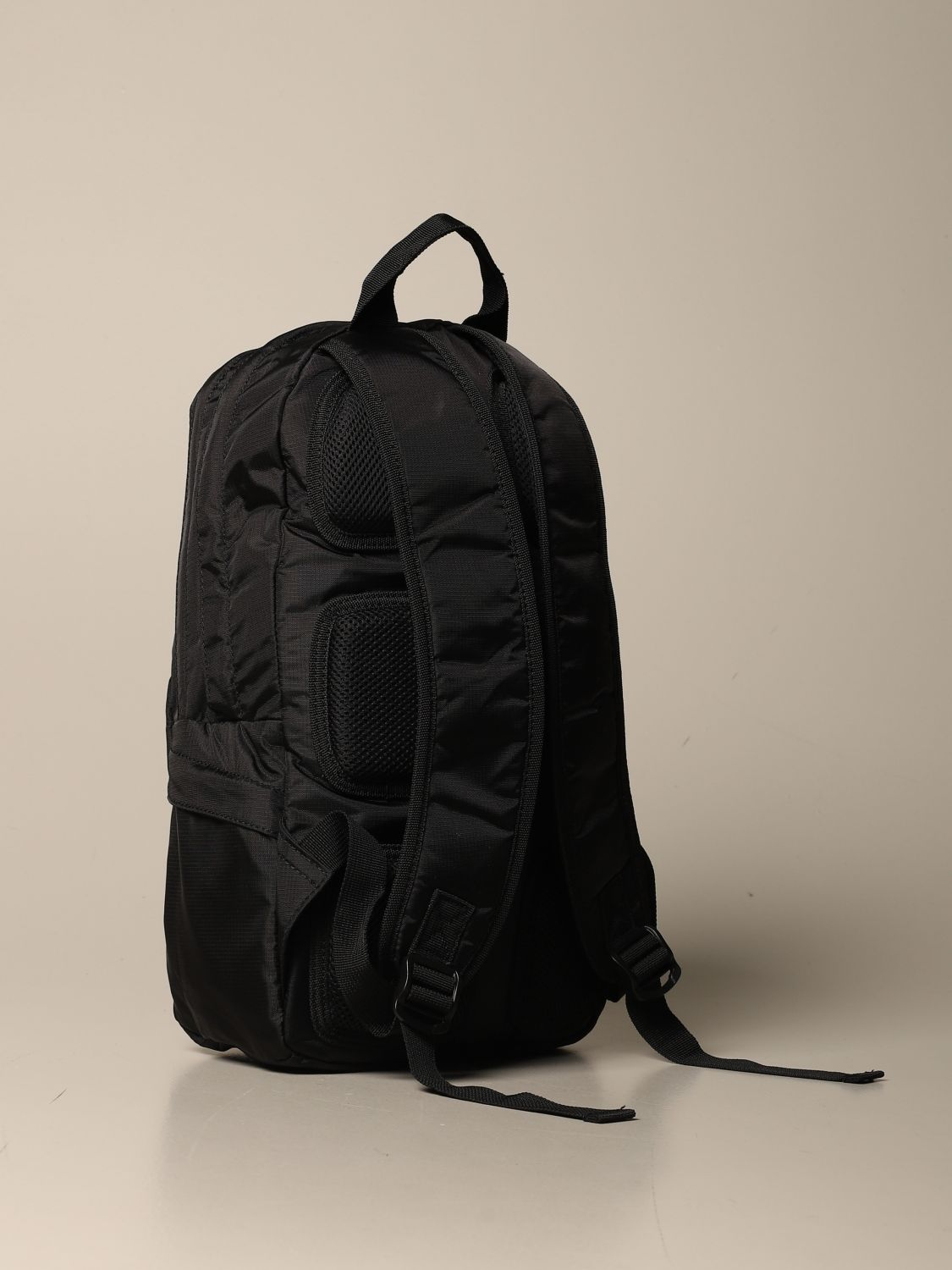 Duffel Bag Marcelo Burlon: Marcelo Burlon backpack in canvas with logo black 2