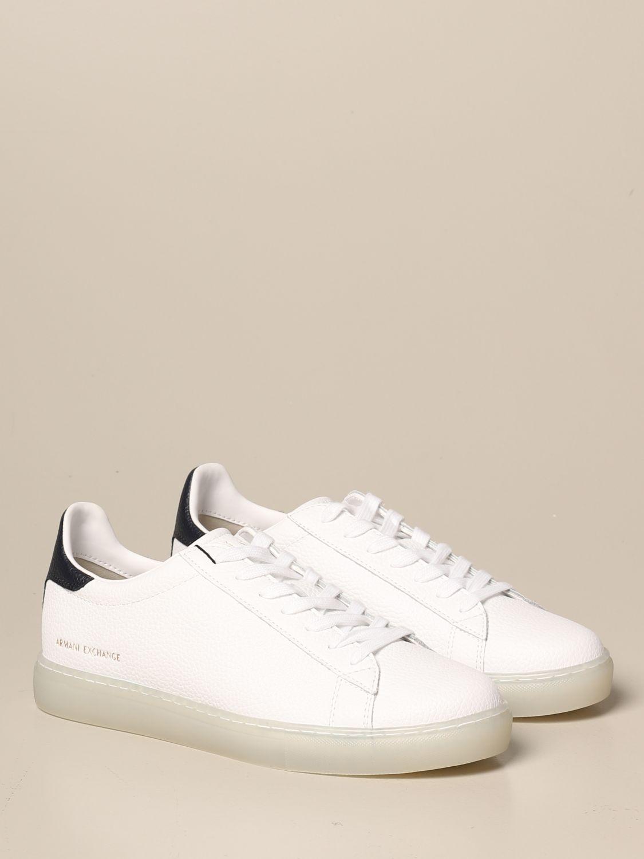 Спортивная обувь Armani Exchange: Обувь Мужское Armani Exchange белый 2