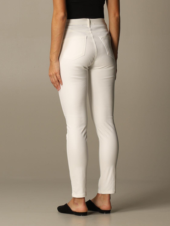 Jeans Federica Tosi: Jeans damen Federica Tosi weiß 2