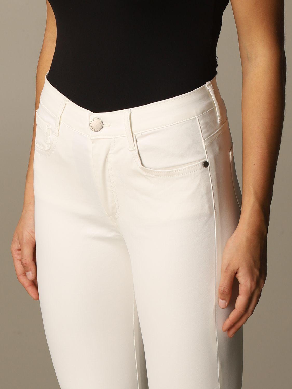 Jeans Federica Tosi: Jeans damen Federica Tosi weiß 3