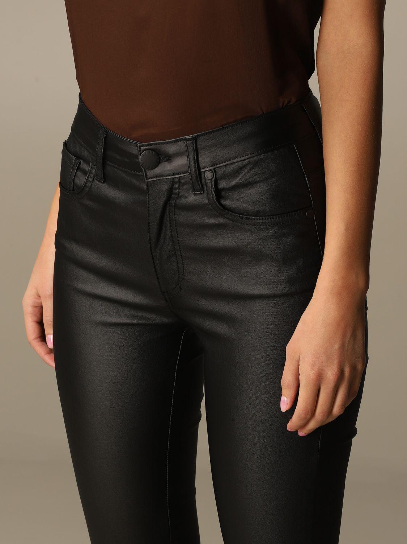 Jeans Federica Tosi: Jeans damen Federica Tosi schwarz 3
