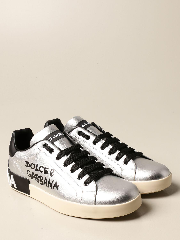 Спортивная обувь Dolce & Gabbana: Спортивная обувь Мужское Dolce & Gabbana серебряный 2