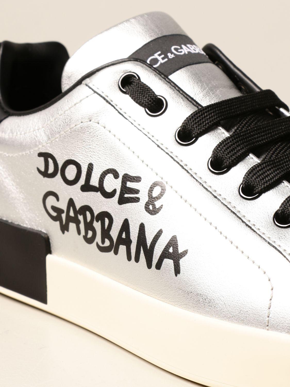 Спортивная обувь Dolce & Gabbana: Спортивная обувь Мужское Dolce & Gabbana серебряный 4