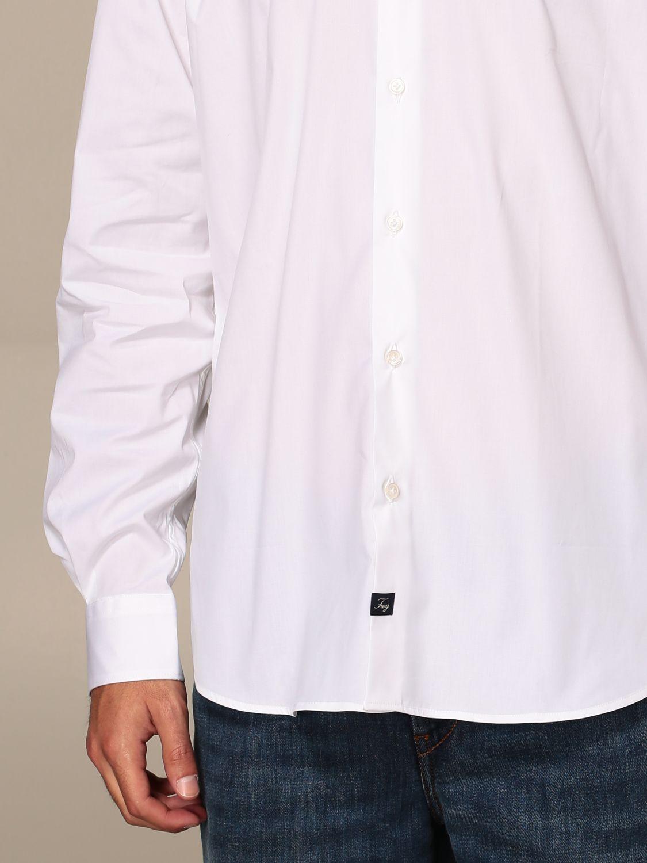 Shirt Fay: Shirt men Fay white 3