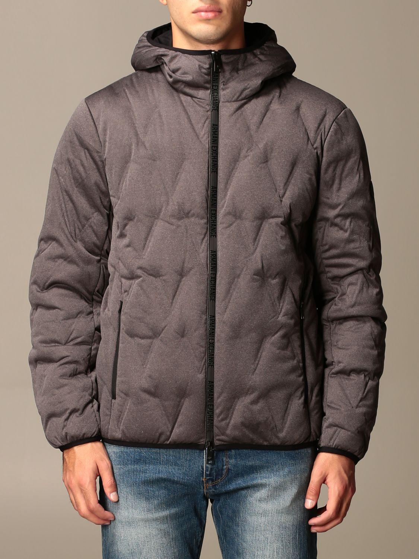 Куртка Armani Exchange: Куртка Мужское Armani Exchange темно-серый 1