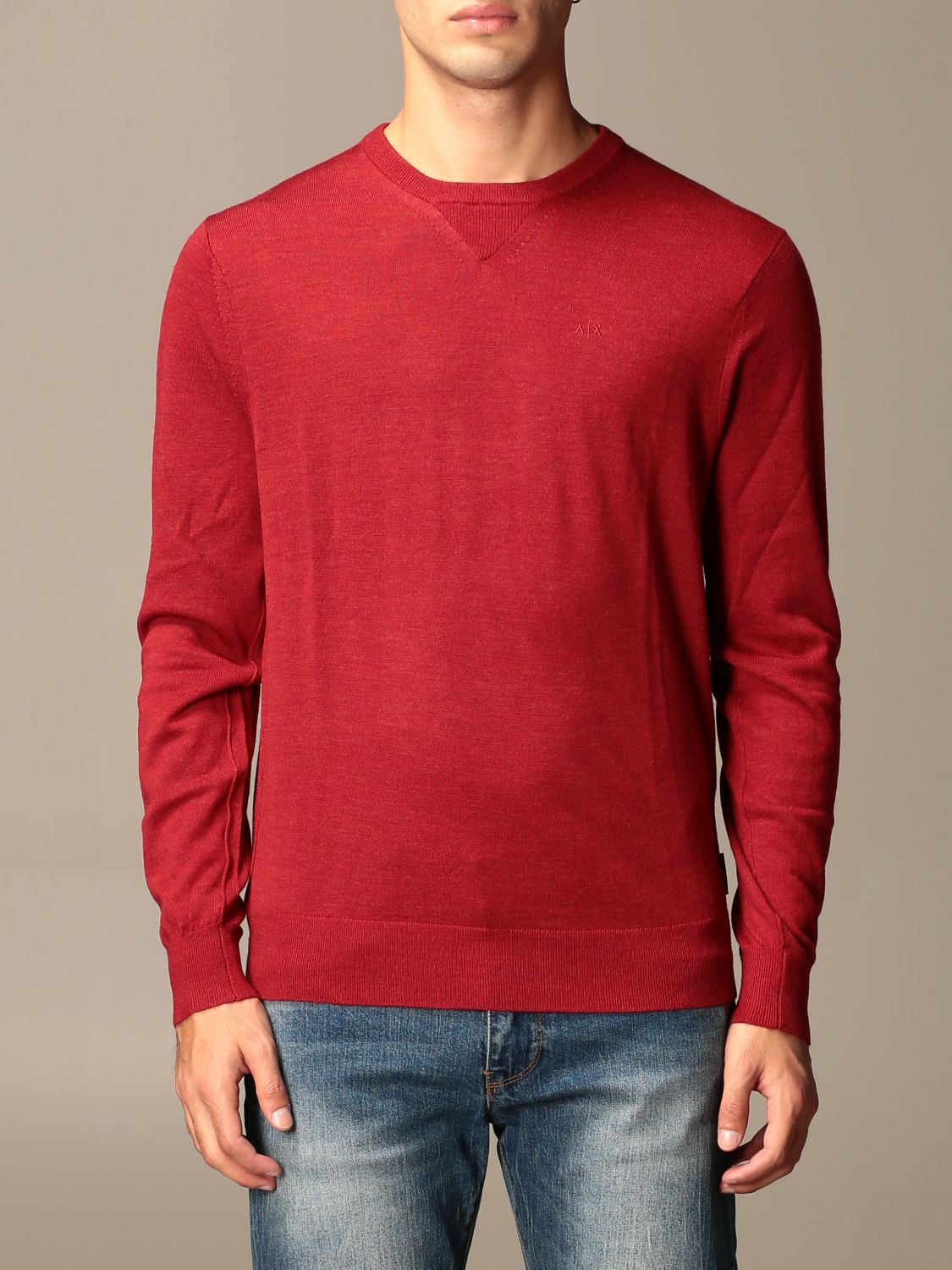 Jumper Armani Exchange: Jumper men Armani Exchange red 1