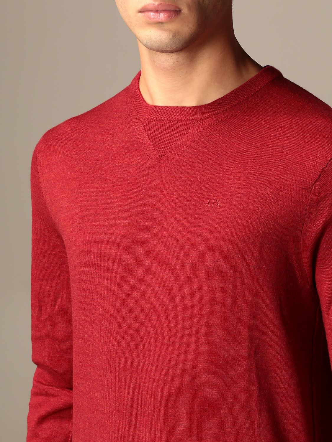 Jumper Armani Exchange: Jumper men Armani Exchange red 3