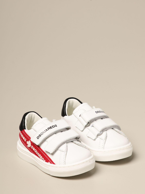 Shoes Dsquared2 Junior: Shoes kids Dsquared2 Junior red 2