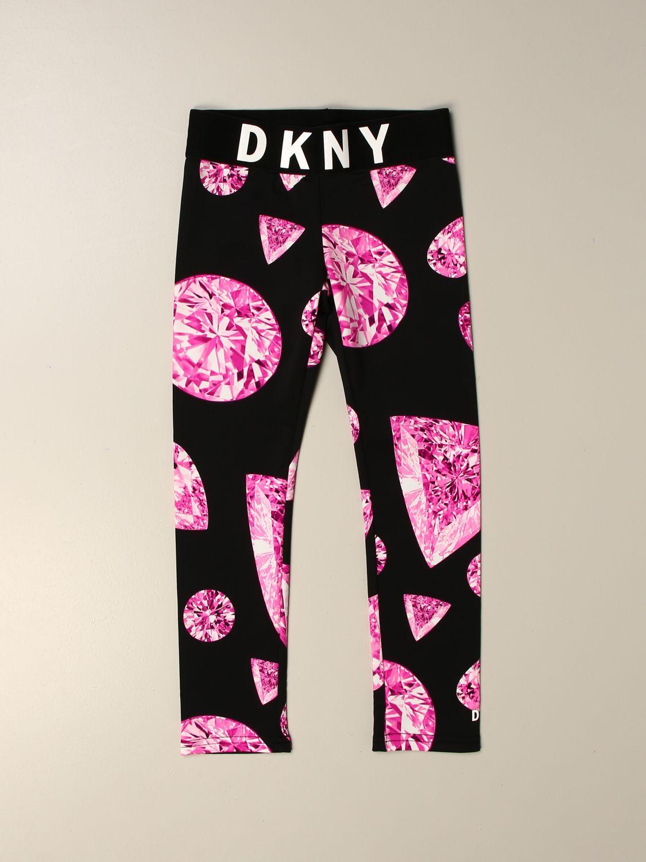 Pantalón Dkny: Pantalón niños Dkny rosa 1