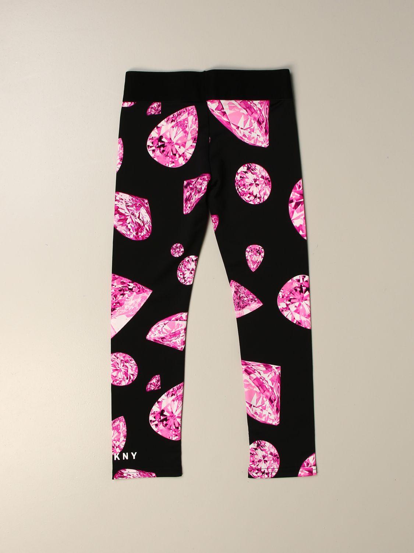 Pantalón Dkny: Pantalón niños Dkny rosa 2