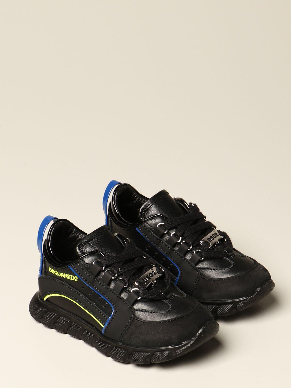 Shoes Dsquared2 Junior: Shoes kids Dsquared2 Junior black 2