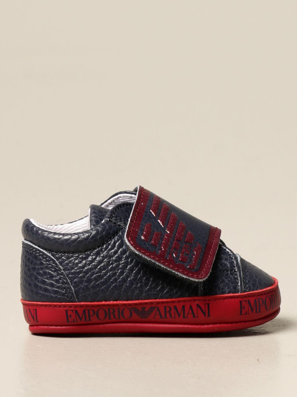 Zapatos Emporio Armani: Zapatos niños Emporio Armani azul marino 1