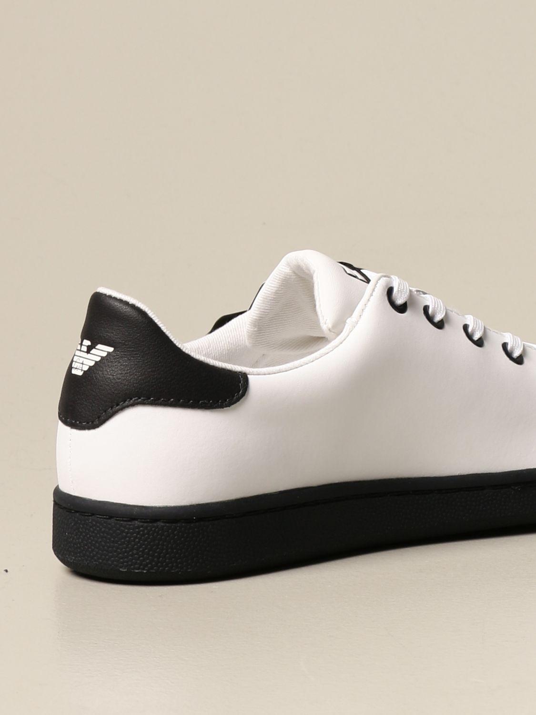 Chaussures Ea7: Chaussures enfant Emporio Armani blanc 3