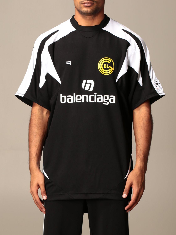 T-shirt Balenciaga: T-shirt homme Balenciaga noir 1