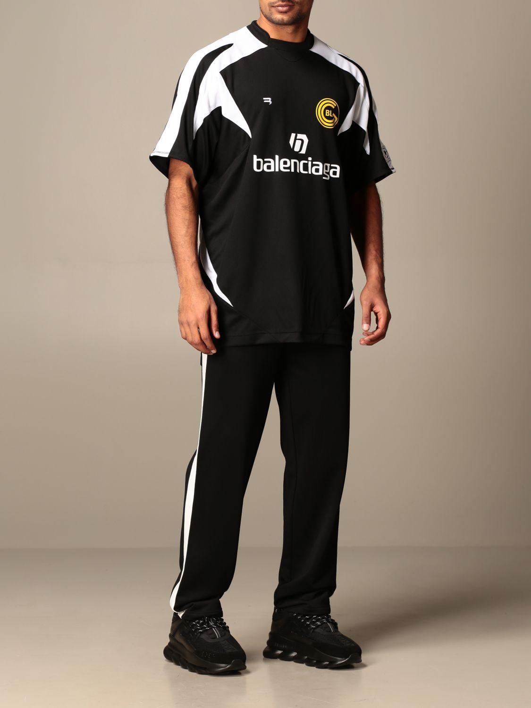 T-shirt Balenciaga: T-shirt homme Balenciaga noir 2